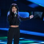 "THE VOICE -- ""Blind Auditions"" Episode 605 -- Pictured: Paula Deanda -- (Photo by: Tyler Golden/NBC)"