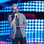 "THE VOICE -- ""Blind Auditions"" Episode 605 -- Pictured: Josh Kaufman -- (Photo by: Tyler Golden/NBC)"