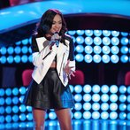 """THE VOICE -- """"Blind Auditions"""" Episode 606 -- Pictured: Brittnee Camelle -- (Photo by: Tyler Golden/NBC)"""