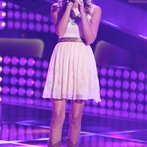 "THE VOICE -- ""Blind Auditions"" Episode 606 -- Pictured: Lindsay Bruce -- (Photo by: Tyler Golden/NBC)"