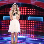 """THE VOICE -- """"Blind Auditions"""" Episode 606 -- Pictured: Lindsay Bruce -- (Photo by: Tyler Golden/NBC)"""