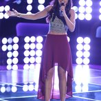 """THE VOICE -- """"Blind Auditions"""" Episode 606 -- Pictured: Kaleigh Glanton -- (Photo by: Tyler Golden/NBC)"""