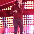 "THE VOICE -- ""Blind Auditions"" Episode 606 -- Pictured: Caleb Elder -- (Photo by: Tyler Golden/NBC)"