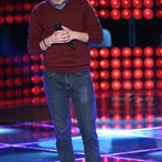 """THE VOICE -- """"Blind Auditions"""" Episode 606 -- Pictured: Caleb Elder -- (Photo by: Tyler Golden/NBC)"""