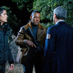 Pictured: (l-r) JD Pardo as Jason Neville, Giancarlo Esposito as Tom Neville, Christopher Cousins as Victor -- (Photo by: Felicia Graham/NBC/NBCU Photo Bank)