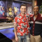 "THE VOICE -- ""Team Adam Battle Reality"" -- Pictured: (l-r) Adam Levine, Aloe Blacc  -- (Photo by: Trae Patton/NBC)"