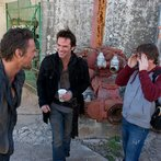 Pictured: (l-r) David Lyons as Sebastian Monroe, Billy Burke as Miles Matheson -- (Photo by: Felicia Graham/NBC/NBCU Photo Bank)