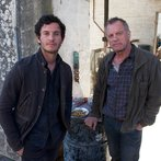 Pictured: (l-r) Mat Vairo as Connor, Stephen Collins as Dr. Gene Porter -- (Photo by: Felicia Graham/NBC/NBCU Photo Bank)
