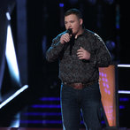 "THE VOICE -- ""Battle Rounds"" Episode 607 -- Pictured: Jake Worthington  -- (Photo by: Tyler Golden/NBC)"