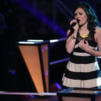 "THE VOICE -- ""Battle Rounds"" Episode 607 -- Pictured: Lexi Luca -- (Photo by: Tyler Golden/NBC)"