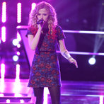 "THE VOICE -- ""Battle Rounds"" Episode 608 -- Pictured: Ria Eaton -- (Photo by: Tyler Golden/NBC)"