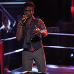 "THE VOICE -- ""Battle Rounds"" Episode 608 -- Pictured: Delvin Choice -- (Photo by: Tyler Golden/NBC)"