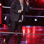 "THE VOICE -- ""Battle Rounds"" Episode 608 -- Pictured: Caleb Elder -- (Photo by: Tyler Golden/NBC)"
