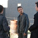 Pictured: David Lyons as Sebastian Monroe, Billy Burke as Miles Matheson-- (Photo by: Felicia Graham/NBC)