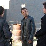 Pictured: David Lyons as Sebastian Monroe, Billy Burke as Miles Matheson-- (Photo by: Felicia Graham/NBC)
