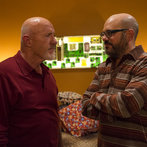 """COMMUNITY -- """"Advanced Advanced Dungeons & Dragons"""" Episode 510 -- Pictured: (l-r) Jonathan Banks as Professir Buzz Hickey, David Cross as Hank Hickey -- (Photo by: Justin Lubin/NBC)"""