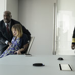 Pictured: (l-r) Delroy Lindo as Winter, Ella Rae Peck as Nina Adams, -- (Photo by: David Giesbrecht/NBC)