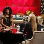 "THE VOICE -- ""Team Shakira Battle Reality"" Episode 609 -- Pictured: (l-r) Deja Hall, Musicbox / Ayesha Brooks, Shakira, Miranda Lambert -- (Photo by: Trae Patton/NBC)"