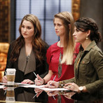 """THE VOICE -- """"Team Blake Battle Reality"""" Episode 609 -- Pictured: (l-r) Audra McLaughlin, Madi Metcalf and Alaska Holloway -- (Photo by: Trae Patton/NBC)"""