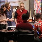 "THE VOICE -- ""Team Adam Battle Reality"" Episode 609 -- Pictured: (l-r) Dawn Dropeza and Christopher Hawkes, Josh Murley, Aloe Blacc, Adam Levine -- (Photo by: Trae Patton/NBC)"