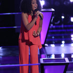"THE VOICE -- ""Battle Rounds"" Episode 609 -- Pictured: Musicbox / Ayesha Brooks -- (Photo by: Tyler Golden/NBC)"