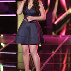 "THE VOICE -- ""Battle Rounds"" Episode 609 -- Pictured: Audra McLaughlin  -- (Photo by: Tyler Golden/NBC)"