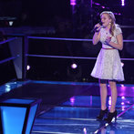 "THE VOICE -- ""Battle Rounds"" Episode 609 -- Pictured: Madilyn Paige -- (Photo by: Tyler Golden/NBC)"