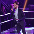 "THE VOICE -- ""Battle Rounds"" Episode 609 -- Pictured: Josh Kaufman -- (Photo by: Tyler Golden/NBC)"