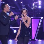 "THE VOICE -- ""Battle Rounds"" Episode 610 -- Pictured: (l-r) Noah Lis, Kaleigh Glanton -- (Photo by: Tyler Golden/NBC)"
