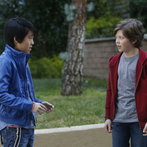 Pictured: (l-r) Lance Lim as Runyen, Eli Baker as Henry -- (Photo by: Jordin Althaus/NBC)