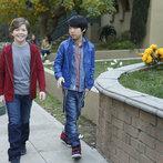 Pictured: (l-r) Eli Baker as Henry, Lance Lim as Runyen -- (Photo by: Jordin Althaus/NBC)