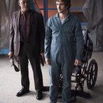 "HANNIBAL -- ""Mukozuke"" Episode 205 -- Pictured: (l-r) Laurence Fishburne as Jack Crawford, Hugh Dancy as Will Graham -- (Photo by: Brooke Palmer/NBC)"