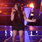 """THE VOICE -- """"Battle Round 2"""" Episode 611 -- Pictured: Tess Boyer -- (Photo by: Tyler Golden/NBC)"""