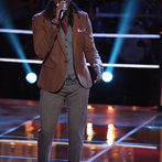 """THE VOICE -- """"Battle Round 2"""" Episode 611 -- Pictured: Delvin Choice -- (Photo by: Tyler Golden/NBC)"""