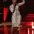 """THE VOICE -- """"Battle Round 2"""" Episode 612 -- Pictured: Sisaundra Lewis -- (Photo by: Tyler Golden/NBC)"""