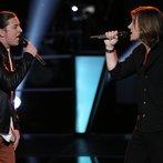 "THE VOICE -- ""Battle Round 2"" Episode 612 -- Pictured: (l-r) Stevie Jo, Morgan Wallen -- (Photo by: Tyler Golden/NBC)"