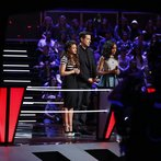 "THE VOICE -- ""Battles Round 2 Behind the Scenes"" -- Pictured: -- (Photo by: Ben Cohen/NBC)"