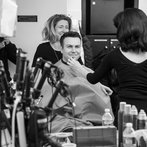 Taran Killam Backstage Photo Late Night with Seth Meyers