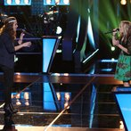 """THE VOICE -- """"Battle Round 2"""" Episode 613 -- Pictured: (l-r) Bria Kelly, Madilyn Paige  -- (Photo by: Tyler Golden/NBC)"""