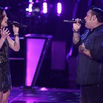 "THE VOICE -- ""Battle Round 2"" Episode 613 -- Pictured: (l-r) Kaleigh Glanton, Ryan White Maloney -- (Photo by: Tyler Golden/NBC)"
