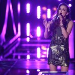 "THE VOICE -- ""Battle Round 2"" Episode 613 -- Pictured: Kaleigh Glanton -- (Photo by: Tyler Golden/NBC)"