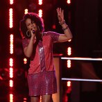 "THE VOICE -- ""Battle Round 2"" Episode 613 -- Pictured: Musicbox / Ayesha Brooks  -- (Photo by: Tyler Golden/NBC)"
