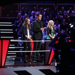 """THE VOICE -- """"Battles Round 2 Behind the Scenes"""" -- Pictured: -- (Photo by: Ben Cohen/NBC)"""