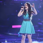"THE VOICE -- ""Playoffs"" Episode 614 -- Pictured:  Audra McLaughlin -- (Photo by: Tyler Golden/NBC)"