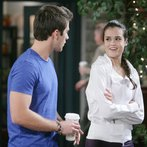 JJ confides in Paige, and they share their first kiss!