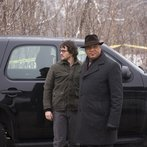 """HANNIBAL -- """"Yakimono"""" Episode 207 -- Pictured: (l-r) Hugh Dancy as Will Graham, Laurence Fishburne as Jack Crawford -- (Photo by: Brooke Palmer/NBC)"""
