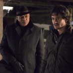 """HANNIBAL -- """"Yakimono"""" Episode 207 -- Pictured: (l-r) Laurence Fishburne as Jack Crawford, Hugh Dancy as Will Graham -- (Photo by: Brooke Palmer/NBC)"""