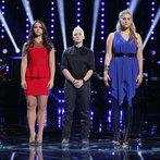 "THE VOICE -- ""Playoffs"" -- Pictured: (l-r) Tess Boyer, Kristen Merlin, Dani Moz  -- (Photo by: Trae Patton/NBC)"