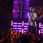 """THE VOICE -- """"Playoffs"""" -- Pictured: Delvin Choice -- (Photo by: Trae Patton/NBC)"""