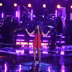 "THE VOICE -- ""Playoffs"" -- Pictured:  Tess Boyer -- (Photo by: Tyler Golden/NBC)"